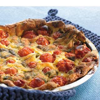 Clafoutis Van Tomaat (tomatenquiche Zonder Bodem)