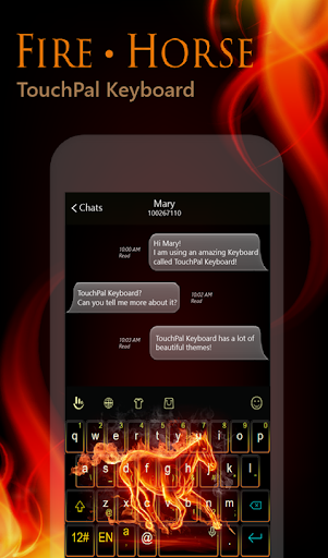 免費下載個人化APP|Fire Horse Keyboard Theme app開箱文|APP開箱王