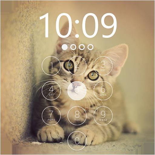 Cat Lock Screen