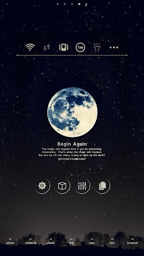無料个人化AppのBegin Again LINEランチャのテーマ|HotApp4Game