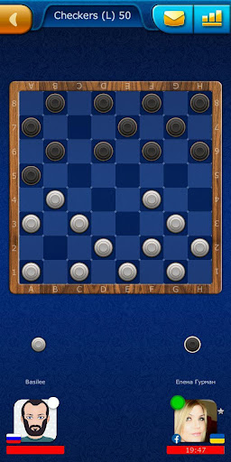 Checkers LiveGames - free online game 3.86 2
