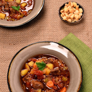 Andes Mountains Quinoa Beef Soup.