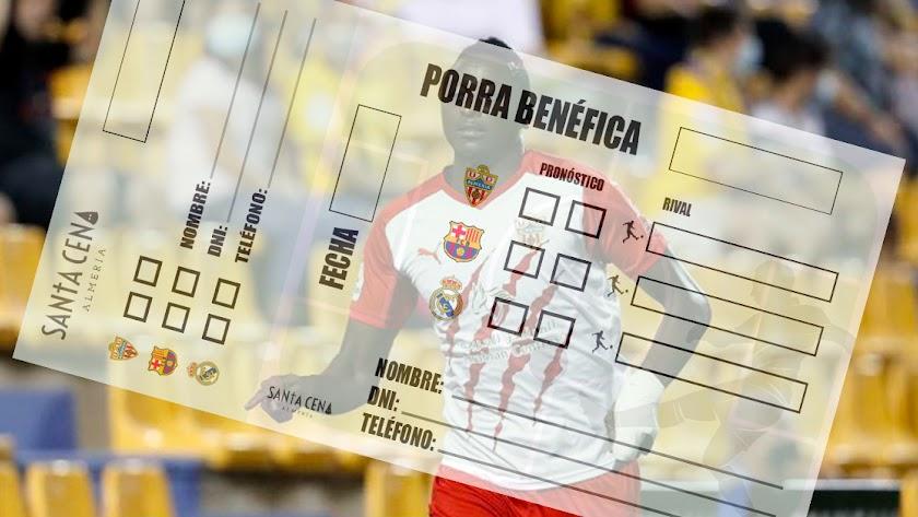 Porra benéfica con los partidos del Almería, el Real Madrid y el Barcelona.