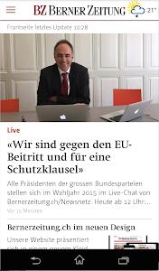 Berner Zeitung screenshot 0