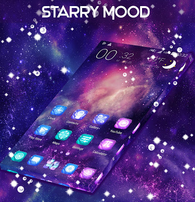 Starry Mood For GO Launcher - screenshot
