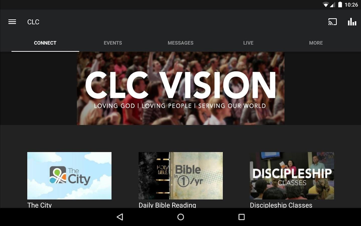 Covenant Love Church- screenshot