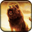 Lion Roaring Live Wallpaper