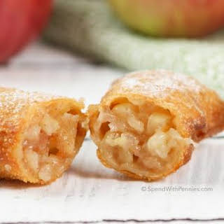 Apple Pie Egg Rolls.