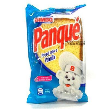 Ponqué Bimbo Panqué Vainilla