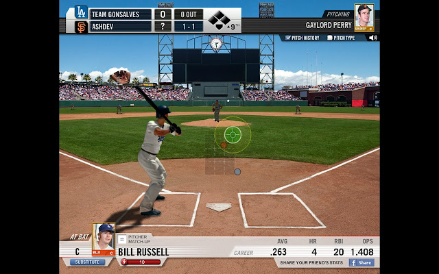 Build your baseball team and play against friends in this officially  licensed MLB baseball game. Play in real MLB ballparks!