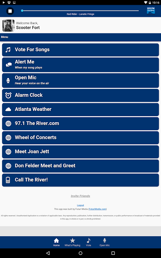 97.1 The River - screenshot