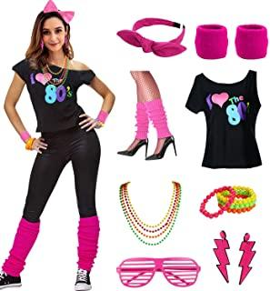 Amazon.com: 80s workout costume: Clothing, Shoes & Jewelry