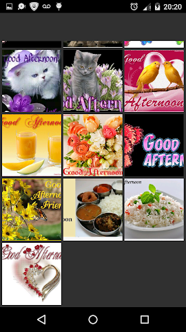 android Good Afternoon Screenshot 7