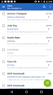 GMX Mail Screenshot 6