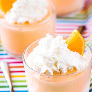 Orange Creamsicle Marshmallow Mousse Recipe