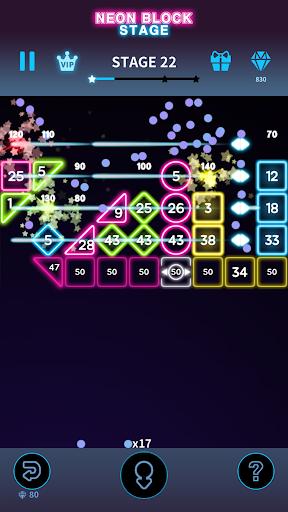 Code Triche Bricks Breaker Neon 9 mod apk screenshots 4