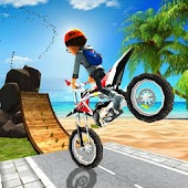 Bike Trail Stunt Tricks Moto racing games
