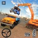 Car Crusher Crane Driver Dumper Truck Driving Game icon