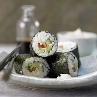 Vegetable Sushi With Cream Cheese Recipes