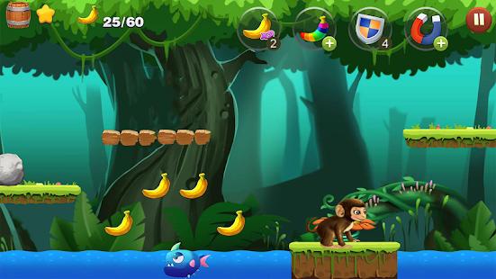 Jungle Monkey Run banana II - náhled