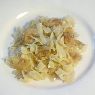 Delicious Cabbage and Noodles.