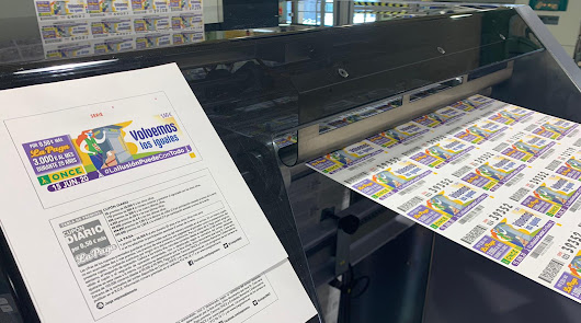 """""""Dos iguales para hoy"""": la ONCE vuelve a imprimir sus cupones"""