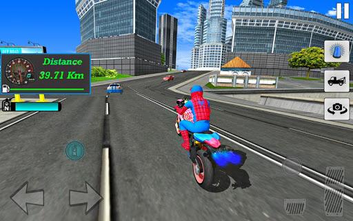 Bike Super Hero Stunt Driver Racing 1.0 screenshots 6