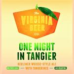 Virginia Beer Co. One Night In Tangier