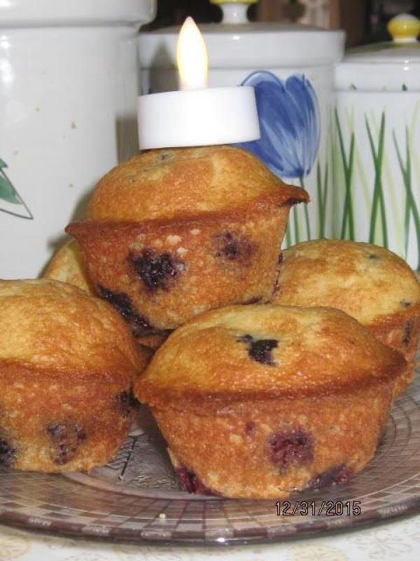 Blueberry Muffins: Gluten-free Recipe