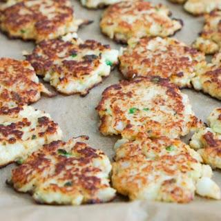 Chipotle Cauliflower Jalapeño Fritters.