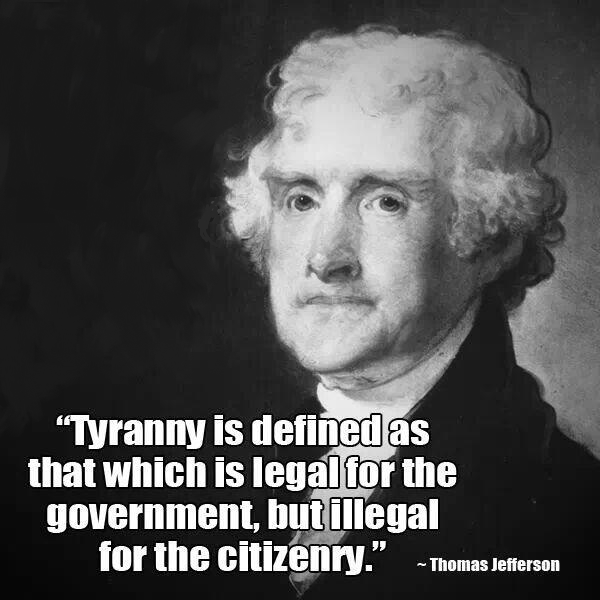 thomas jefferson - creator of the constitution - enemy of the Fed