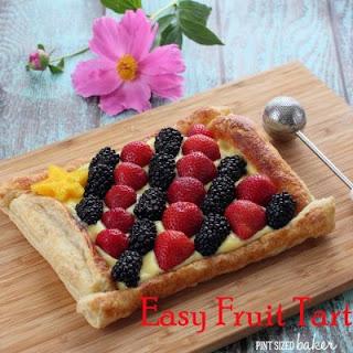 Easy Fruit Tart.