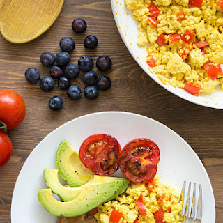 Vegan Scrambled Eggs, Made with Tofu Recipe