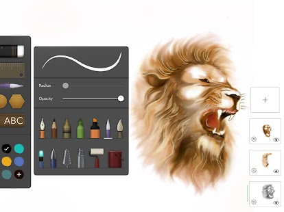 Drawing Desk Draw Paint Color Doodle & Sketch Pad Screenshot