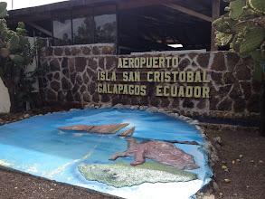 Photo: San Cristobal Island - Tortoise and Sleeping Lion Rock