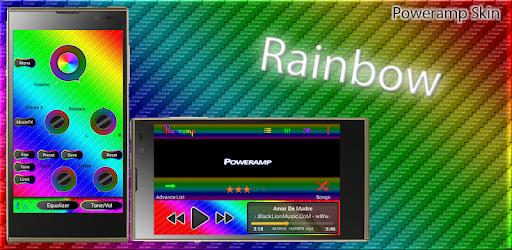 Poweramp Skin Rainbow - Apps on Google Play
