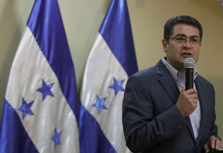 "Honduran President Juan Orlando Hernandez said authorities had activated the country's emergency system, but urged people to ""please remain calm."""