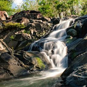Rora Stones by Erwan Setyawan - Landscapes Waterscapes ( rora, waterfall )
