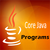 Core Java Programs