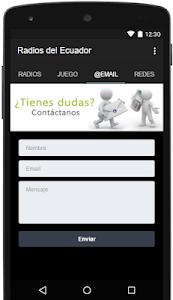 Radios del Ecuador screenshot 2