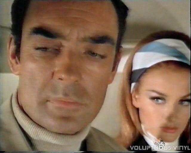 Richard Johnson and Barbara Bouchet in Danger Route