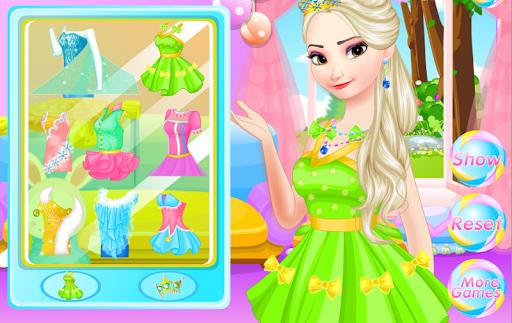 Candy makeup for Elsa