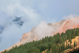 Photo: Red Mountain in mist