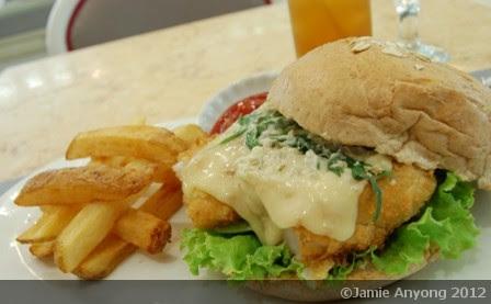 sole burger