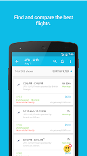 Skyscanner Flights, Hotel, Car- screenshot thumbnail