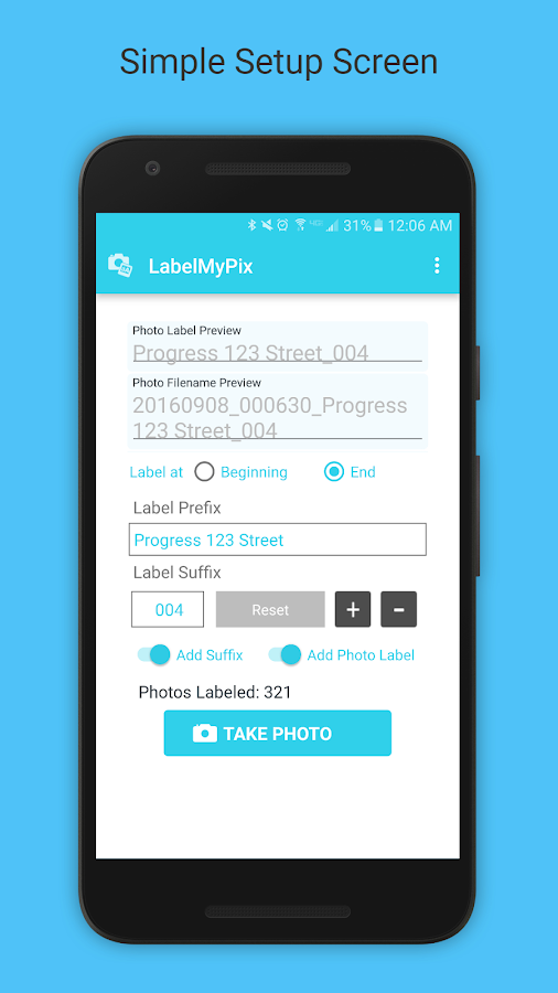LabelMyPix- screenshot