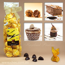 Photo: A luxurious gift made with couverture chocolate. www.choc.com.au