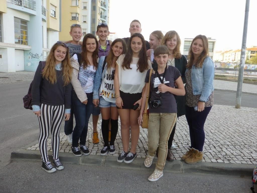 Mūsu skolas skolēni Portugāle