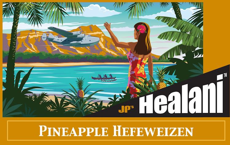 Logo of JP's Healani Pineapple Hefeweizen