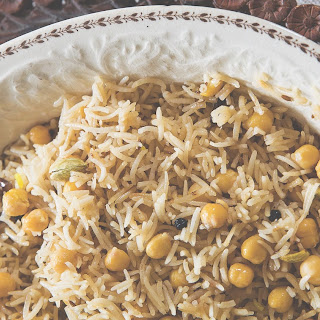Make Chickpea And Cumin Pulao